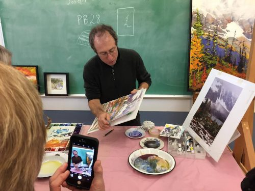 Chemainus Art Group Guest Artist