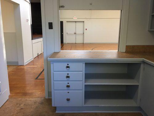 Auditorium/Gym Small Prep Area