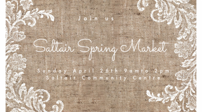 1st Annual Saltair Spring Craft Market Event