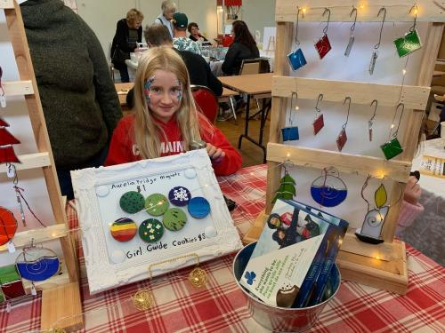 Christmas Market 13 Kids Table