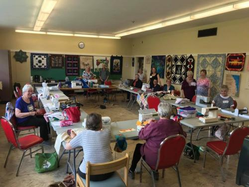 Saltair Quilters Tuesday's Group